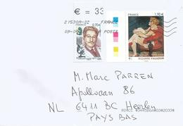 France 2019 Marseille Forensic Police Scientist Edmond Locard Painter Suzanne Valadon Cover - Brieven En Documenten