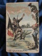 Guerre 1914  Illustrateur A.C.  Le Uhlan Et Le Belge  Colorisée - R288 - Patriotic