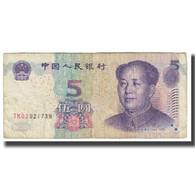Billet, Chine, 5 Yüan, 2005, KM:903, TB - Chine