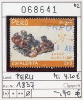 Peru - Michel 1837 - Oo Oblit. Used Gebruikt - Peru