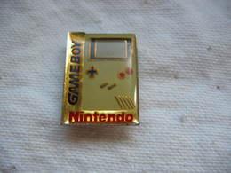 Pin's Gameboy De NINTENDO - Jeux