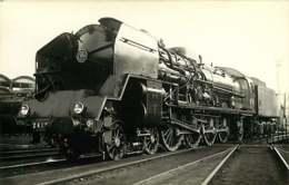 100519B TRANSPORT TRAIN CHEMIN DE FER - PHOTO VILAIN - Locomotive SNCF 241P4 BERCY PARIS - Stations With Trains