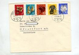 Lettre Cachet Sion Sur Juventute 1965 - Marcophilie