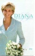 Princesse DIANA Princess Lady Di Angleterre Carte Prépayée Card  (G 125) - Personnages