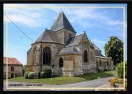 08  CHARBOGNE  .. ..abside De L'eglise - France