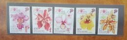 2011 Singapore. 20th World Orchid Conference. Stamp Set Presentation Pack. MNH - Singapore (1959-...)