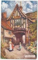 St. John's Hospital, Canterbury, 'Jotter' Postcard - Canterbury