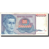 Billet, Yougoslavie, 500,000 Dinara, 1993, 1993, KM:119, TB+ - Yougoslavie