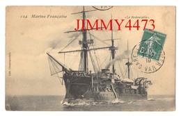 """CPA Datée De 1910 - Le """" Redoutable """" - Marine Française - N° 124 - Edit. Chanteperdrix - Guerra"""