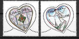France 2004 N° 3632/3633 Neufs St Valentin Chanel à La Faciale - France