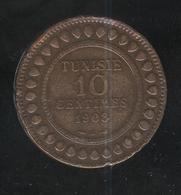 10 Centimes Tunisie 1908 - Tunisia