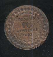 10 Centimes Tunisie 1892 - Tunisia