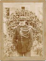 Photo : Portrait D'un Gendarme (?) En Uniforme De Parade - M. Brunet Par G. BALLOTTE à Paris - Guerre, Militaire