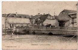 Mirebeau : Le Pont Sur La Bèze (Editeur A. Bergeret) - Mirebeau