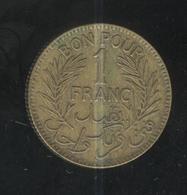 1 Franc Tunisie 1941 - Tunisia