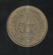 1 Franc Tunisie 1945 - Tunisia