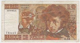 France P 150 A - 10 Francs 3.10.1974 - VF - 10 F 1972-1978 ''Berlioz''