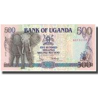 Billet, Uganda, 500 Shillings, 1991, 1991, KM:33a, NEUF - Uganda