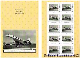 France 2019 Collector MTM 1° Vol Du Concorde F-WTSS Le 02/03/1969 - 50 Ans Toulouse Blagnac - MNH / Neuf - Collectors