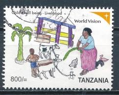 °°° TANZANIA - COLOBUS MONKEYS - 2013 °°° - Tanzania (1964-...)