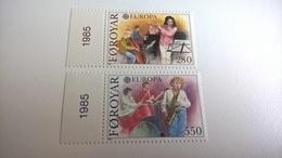 EUROPA FAROYAR 1985 - INTEGRI - Isole Faroer