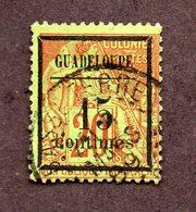 Guadeloupe N°4  Oblitéré Cote 35 Euros !!! - Gebruikt