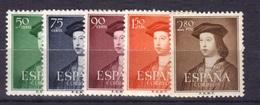 Espagne 1952 Yvert 826/30 Neufs** (MNH) (14) - 1931-Aujourd'hui: II. République - ....Juan Carlos I