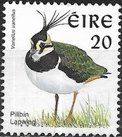 IRELAND 1997 Birds - 20p - Northern Lapwing (Lapwing) MNG - Unused Stamps