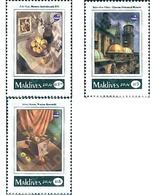 Ref. 95656 * MNH * - MALDIVES. 1993. POLSKA 93. INTERNATIONAL PHILATELIC EXHIBITION . POLSKA 93. EXPOSICION FILATELICA I - Maldives (1965-...)