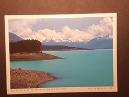 Lake Pukaki, Mt. Cook (gelaufen, 2001 Deutschland); H29 - Neuseeland