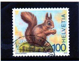 2018 Svizzera - Scoiattolo - Used Stamps