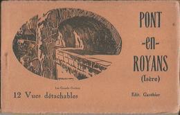 CARNET Complet De 12 Cartes Postales Anciennes De PONT-EN-ROYANS (Edit. Gauthier). - Pont-en-Royans