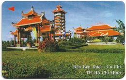 Vietnam - Uniphonekad - Den Ben Duoc Cu Chi - 4MVSC - 20.000ex, Used - Vietnam