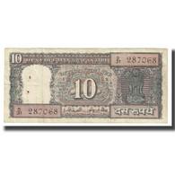Billet, Inde, 10 Rupees, KM:69a, TB - Inde