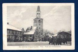 Lettonie. Mitau ( Jelgava). Place Du Marché. Eglise De La Trinité. Feldpost Königsberg I. Pr. Janvier 1917 - Lettonie