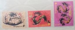 2012 Singapore. Year Of Dragon. Stamp Set Presentation Pack. MNH - Singapore (1959-...)