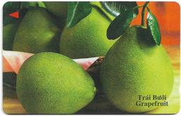 Vietnam - Uniphonekad - Grapefruit - 13UPVB - 18.547ex, Used - Vietnam