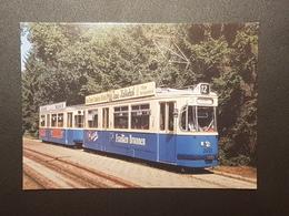 München Strassenbahn Linie 12, Letzte Fahrt (nicht Gelaufen, 1993); H29 - Tramways