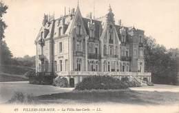 VILLERS SUR MER - Villa San-Carlo - Croix-Rouge - Dispensaire San Carlo - Villers Sur Mer