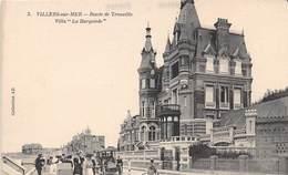 """VILLERS SUR MER - Route De Trouville - Villa """"La Burgonde"""" - Villers Sur Mer"""