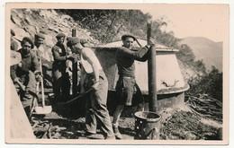 CPSM - NYONS (Drôme) - Chantiers De La Jeunesse - Groupement N°33 - Les Fours à Carboniser (Etat) - Die