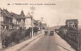 VILLERS SUR MER - Route De Trouville - Entrée De Villers - Villers Sur Mer