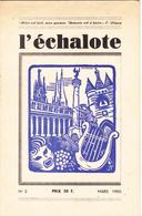 L'échalote (auteurs De Gascogne) N°2 Mars 1950 - French Authors