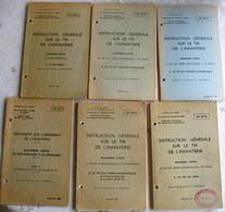 LOT 6 INF Sur L'armement - FUSIL FSA - ARMES AUTOMATIQUES FM 7,5 / 7,62mm /12,7 Mm / PA 9 Mm - PM 9 Mm - LE TIR DIRECT - Books, Magazines  & Catalogs