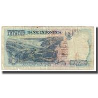 Billet, Indonésie, 1000 Rupiah, 1992, KM:129g, TB - Indonesia