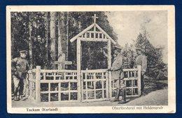 Lettonie. Tuckum ( Tukums). Oberförsterei Mit Heldengrab. Feldpoststation Nr 33. Inf. Regiment Nr 427. Novembre 1916 - Lettonie