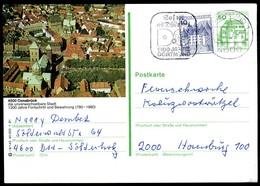 98235) BRD - P 134 - I9/142 - OO Gestempelt 4500 - 4500 Osnabrück - Stadtansich, Kirche - BRD