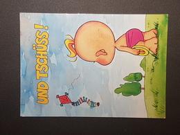 Windel Winni - Und Tschüss  (gelaufen, 2000); H29 - Comicfiguren