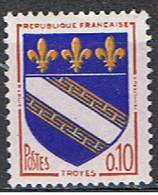 (FR 639) FRANCE //  YVERT 1353 // 1962-65    NEUF - Unused Stamps