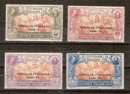 """(Fb).Colonie.Somalia.1923.""""Propaganda Fide"""".Serie Completa Nuova,gomma Integra,MNH (329-15) - Somalia"""